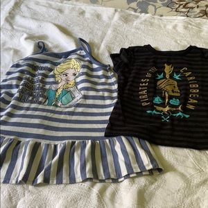 Disney items size 4